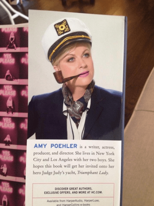 Amy Poehler Continues to be the Best Person Alive, Hands Down