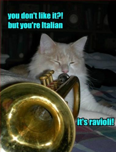 The Pasta Wake-up Call