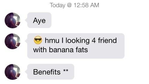I'd Prefer Banana Fats