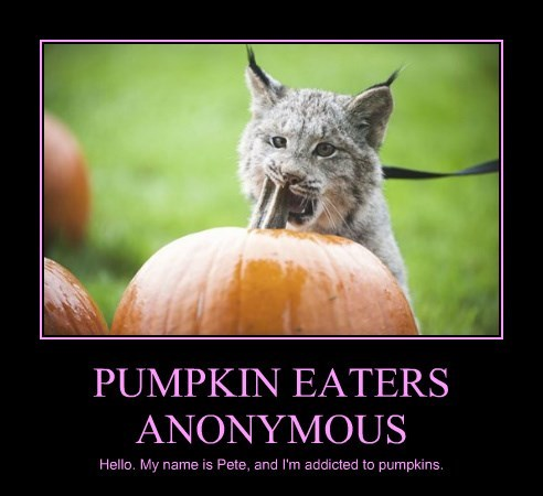 PUMPKIN EATERS ANONYMOUS