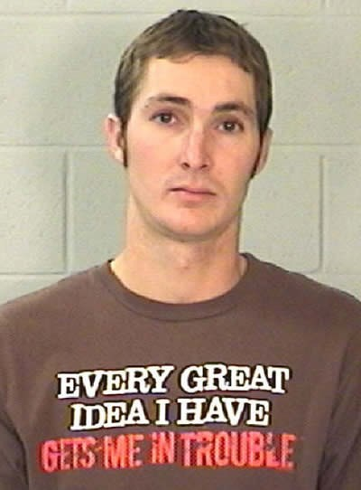 No Better Shirt for a Mugshot