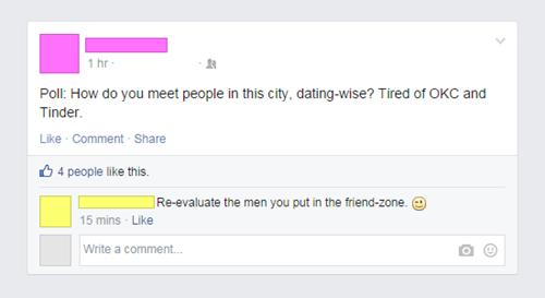 tinder,friendzone,facebook