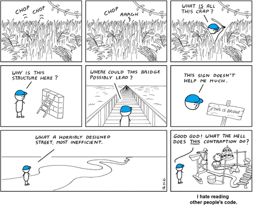 What it's Like to Read Other People's Code