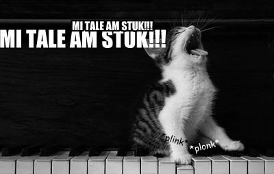 MI TALE AM STUK!!!