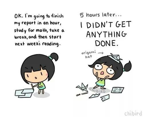 The Harsh Reality of Studying