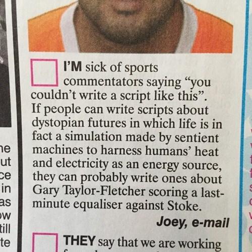 Tell it Like it is, Joey