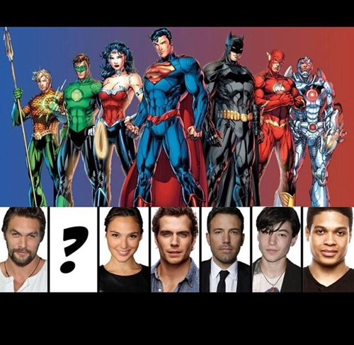 Justice League Is Shaping Up