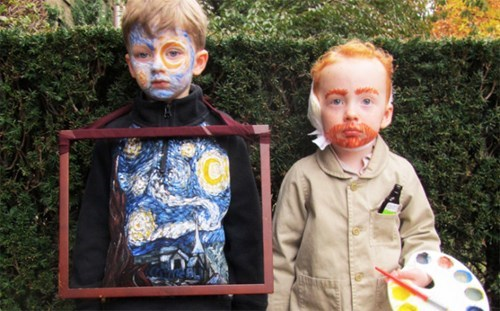 costume,starry night,halloween,Van Gogh,parenting,g rated