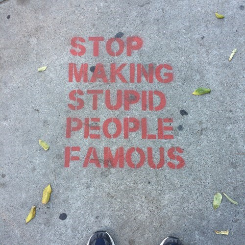 Listen to the Wise Sidewalk, People