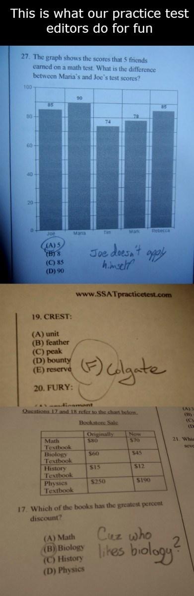 doodle,school,test