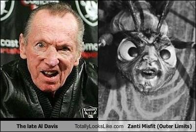 The late Al Davis Totally Looks Like Zanti Misfit (Outer Limits)
