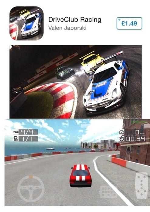 Cover Art vs. Actual Game