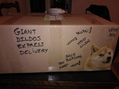 Never Have Your Best Friend Send You a Package