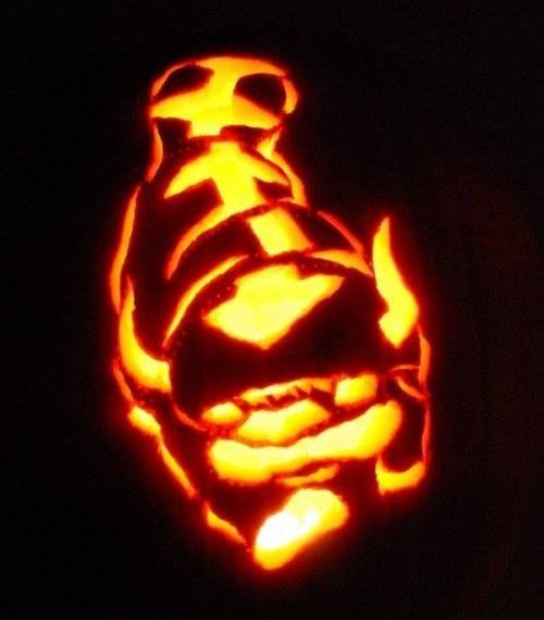Why Carve a Regular Jack o Lantern When You Could Have an Appa?