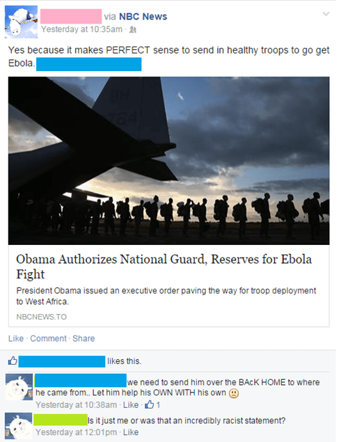 Tell Us How You Really Feel About Ebola and the President