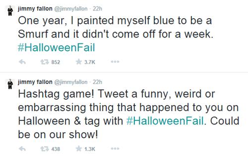 halloween,hashtags,jimmy fallon,twitter