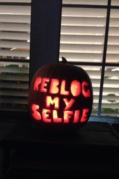 Like My Status if You Like My Pumpkin