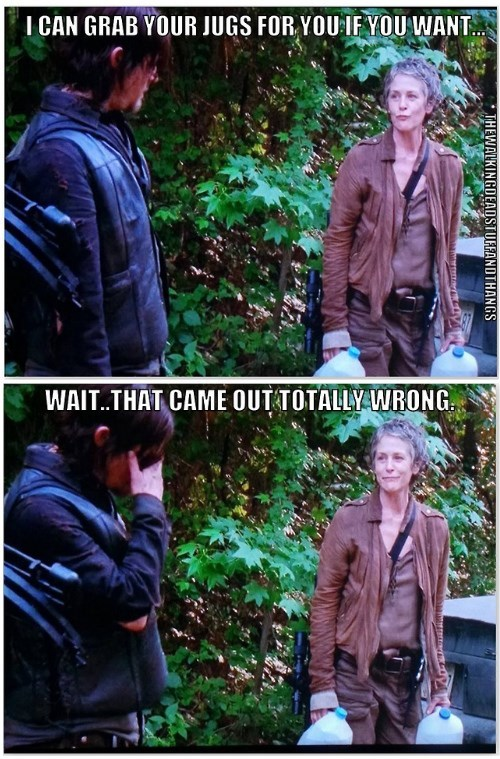 Daryl's Flirting Skills Come to Life