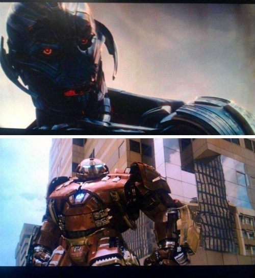 First Look At Ultron and Hulkbuster Armor in Leaked Avengers 2 Images