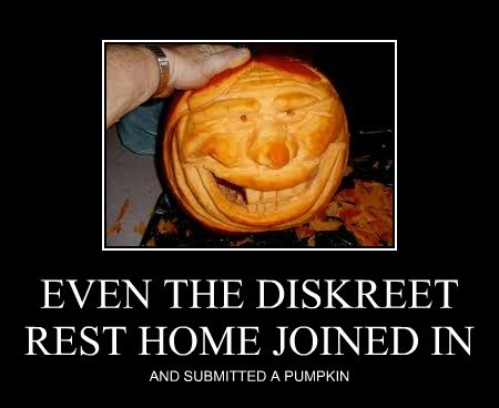 EVEN THE DISKREET REST HOME JOINED IN