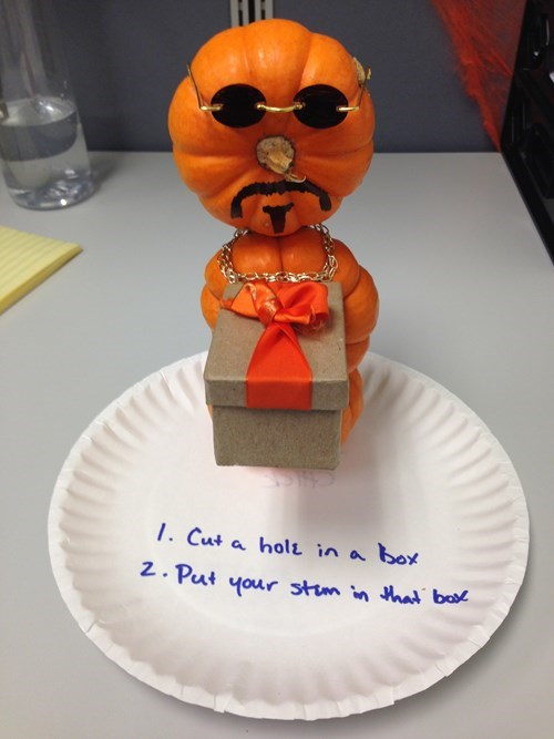 1. Cut a Hole in a Box