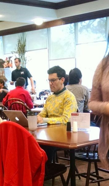 poorly dressed,banana,sweater