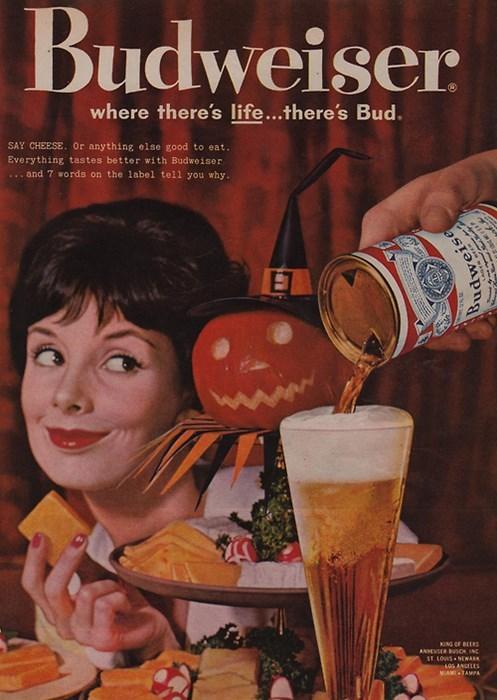 beer,life,budweiser,ads,funny,vintage