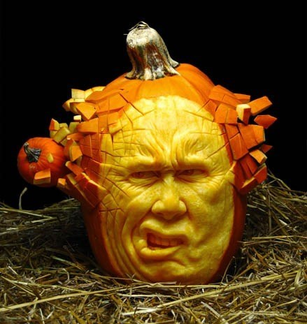 More Mind-Blowing (Gourd-Blowing?) Pumpkin Art From Ray Villafane