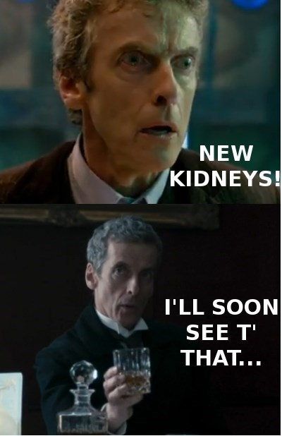 The Doctor Drinks