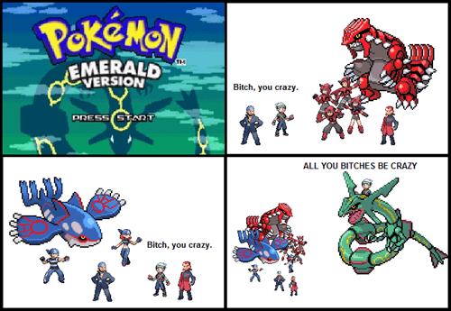 Pokémon Emerald: Thug Notes Edition