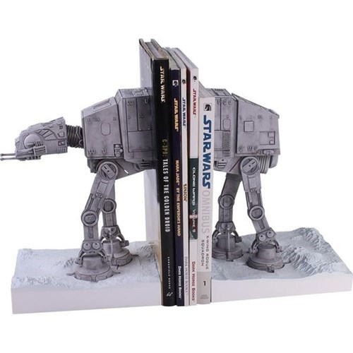 How Cool are These AT-AT Bookends?
