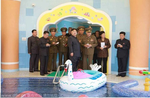 Photos of the Day: New, Bizarre Kim Jong Un Images Surface