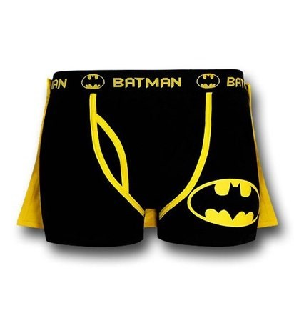 cape,poorly dressed,boxers,batman,underwear