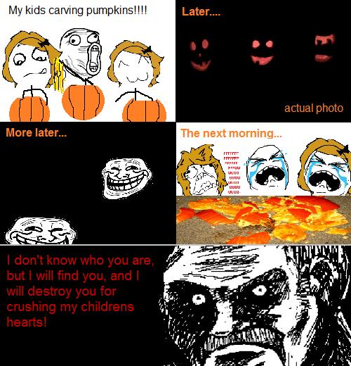 jack o lanterns,halloween,kids,pumpkins,prank