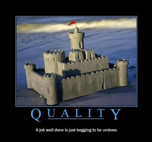 sand castle,impermanence,job,quality,funny