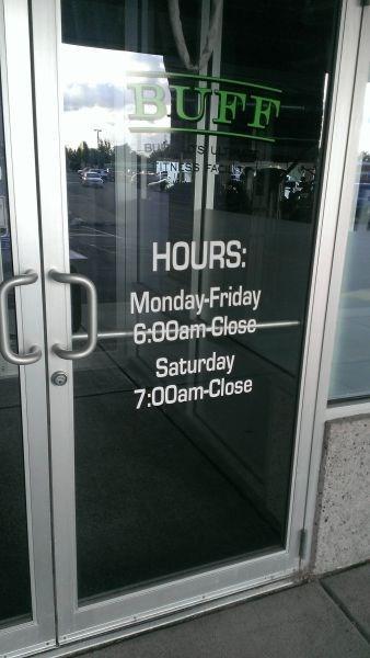monday thru friday,closing time,hours