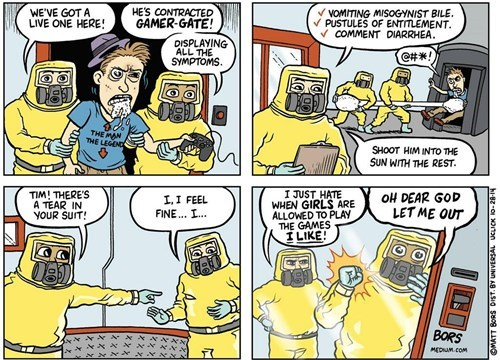 Yes, Compare GamerGaters to Ebola Patients, That Won't Make Anyone Upset