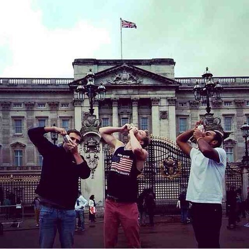 The American Invasion of Buckingham Palace