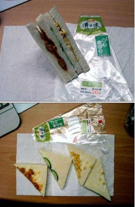 Destiny in Sandwich Form