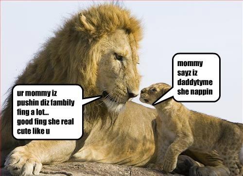 mommy sayz iz daddytyme