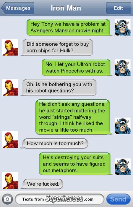 Stark has Three New Laws of Robotics