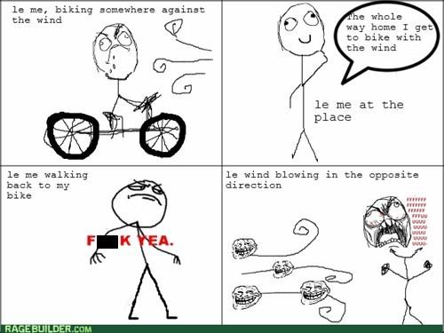 rage,wind,biking