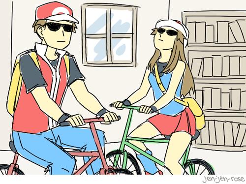 Pokémon,Deal With It,professor oak,bikes