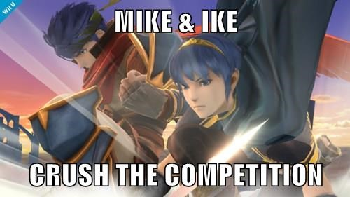 MIKE & IKE  CRUSH THE COMPETITION
