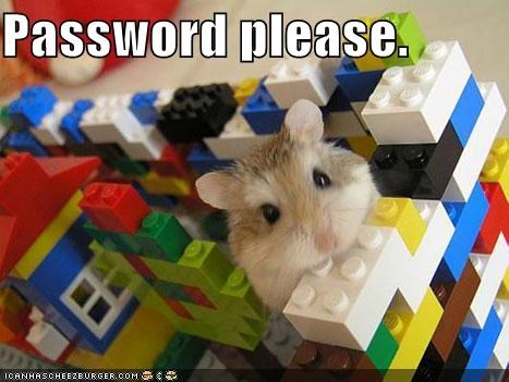Password please.
