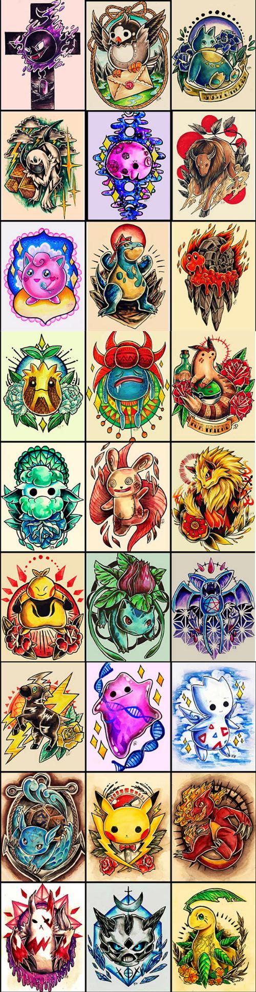 Considering a Pokémon Tattoo?
