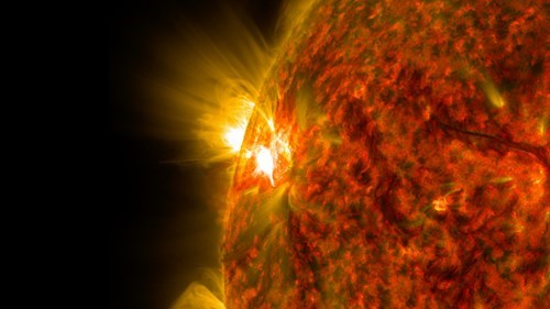 Photo of the Day: Check Out This Close-up Shot of a Solar Flare
