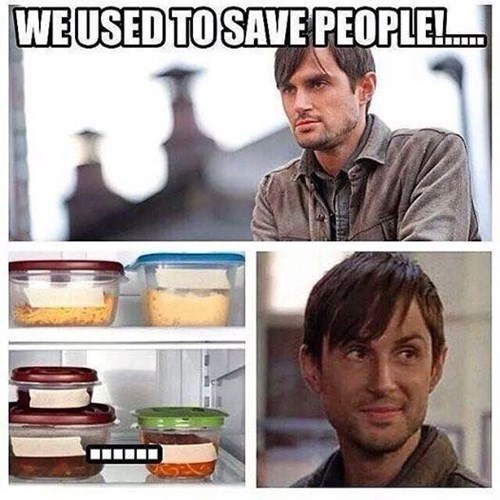 But Then We Ran Out of Tupperware