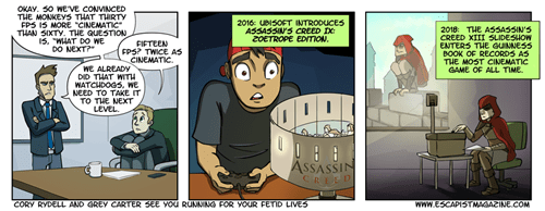 Ubisoft,assassins creed,web comics