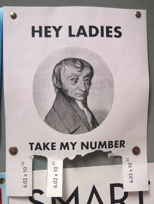 Avogadro Loves the Ladies